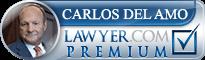 Carlos Cipriano Del Amo  Lawyer Badge