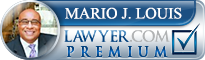 Mario J Louis  Lawyer Badge
