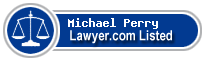 Michael Perry Lawyer Badge