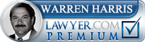 Warren L. Harris  Lawyer Badge