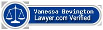 Vanessa Anne Bevington  Lawyer Badge