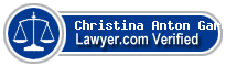 Christina Anton Garcia  Lawyer Badge