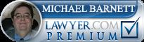 Michael Reed Barnett  Lawyer Badge