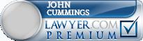 John Robert Cummings  Lawyer Badge