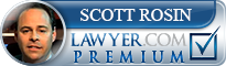 Scott A. Rosin  Lawyer Badge