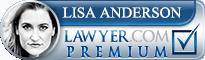 Lisa Ann Anderson  Lawyer Badge