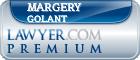 Margery Ellen Golant  Lawyer Badge