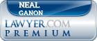 Neal Leonard Ganon  Lawyer Badge