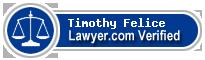 Timothy Charles Felice  Lawyer Badge