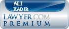 Ali Kadir  Lawyer Badge