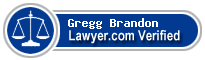 Gregg G Brandon  Lawyer Badge