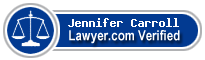 Jennifer Boussy Carroll  Lawyer Badge