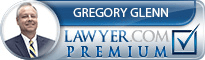 Gregory G Glenn  Lawyer Badge