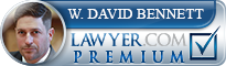 W. David Bennett  Lawyer Badge