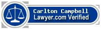 Carlton Campbell  Lawyer Badge