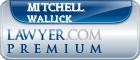 Mitchell Jeffrey Wallick  Lawyer Badge