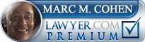 Marc Mitchell Cohen  Lawyer Badge
