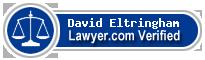 David Eltringham  Lawyer Badge