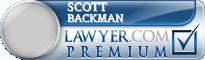 Scott Elliot Backman  Lawyer Badge