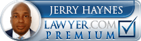Jerry D Haynes  Lawyer Badge