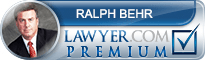 Ralph Steven Behr  Lawyer Badge