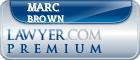 Marc Evan Brown  Lawyer Badge