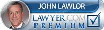 John K Lawlor  Lawyer Badge