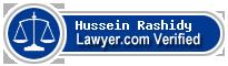 Hussein Sony El Rashidy  Lawyer Badge
