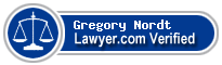 Gregory Michael Nordt  Lawyer Badge