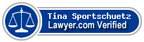 Tina Sportschuetz  Lawyer Badge