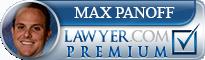 Max N. Panoff  Lawyer Badge
