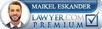 Maikel N. Eskander  Lawyer Badge