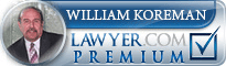 William G Koreman  Lawyer Badge