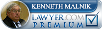 Kenneth Michael Malnik  Lawyer Badge