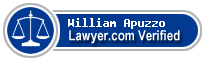 William Joseph Apuzzo  Lawyer Badge