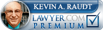 Kevin Alan Raudt  Lawyer Badge