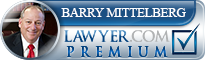 Barry Steven Mittelberg  Lawyer Badge