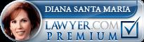 Diana Santa Maria  Lawyer Badge