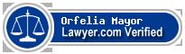 Orfelia Maria Mayor  Lawyer Badge