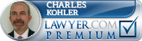 Charles Albert Kohler  Lawyer Badge
