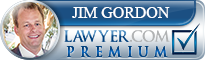 Jim Gordon  Lawyer Badge
