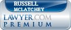 Russell F. McLatchey  Lawyer Badge