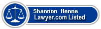 Shannon Henne Lawyer Badge