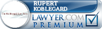 Rupert Neis Koblegard  Lawyer Badge