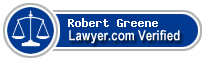 Robert Vance Greene  Lawyer Badge