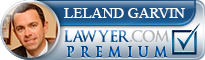 Leland Eric Garvin  Lawyer Badge