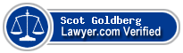 Scot Dale Goldberg  Lawyer Badge