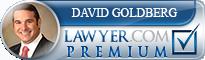 David Milton Goldberg  Lawyer Badge