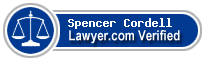Spencer Alan Cordell  Lawyer Badge