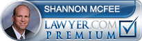 Shannon Howard Mcfee  Lawyer Badge